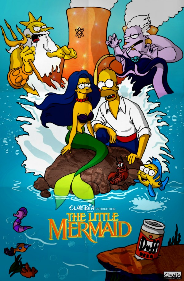 The Little Mermaid Parody