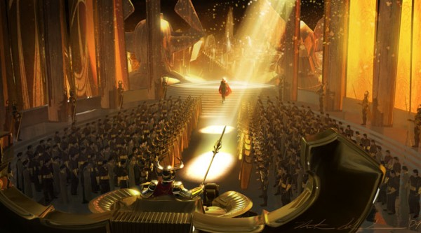 Concept Art and Illustration for Thor by Nathan Schroeder