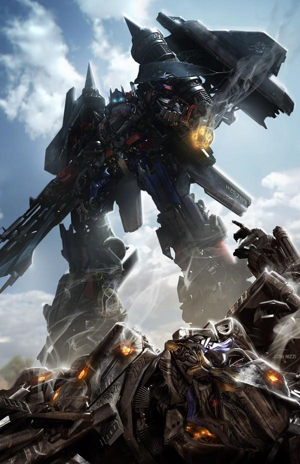 "Concept Art for ""Transformers: Revenge of the Fallen"" by Josh Nizzi"