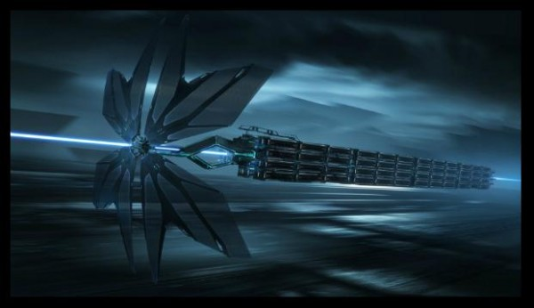 """Concept Art for """"Tron Legacy"""" by Dylan Cole"""