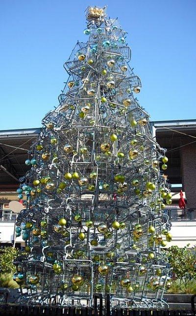 Shopping cart tree via You The Designer