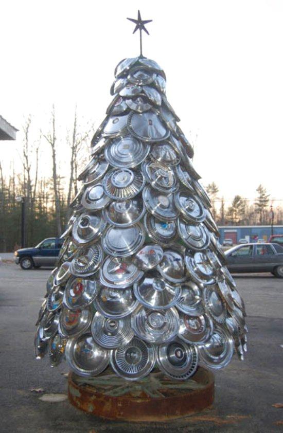 Hub cap tree via You The Designer