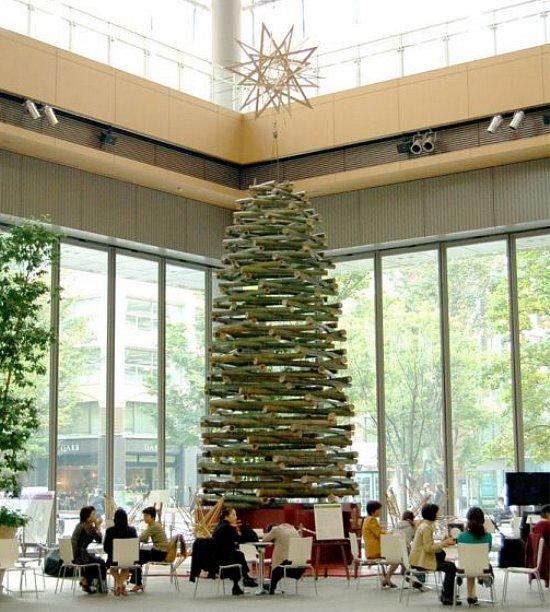 Bamboo Christmas Tree via You The Designer