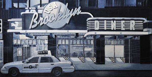 The Brooklyn Diner, Denim on Denim by Denimu