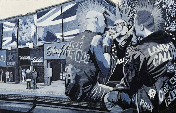 Punk London, Denim on Denim by Denimu