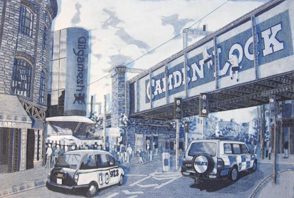 Camden Lock, Denim on Denim by Denimu