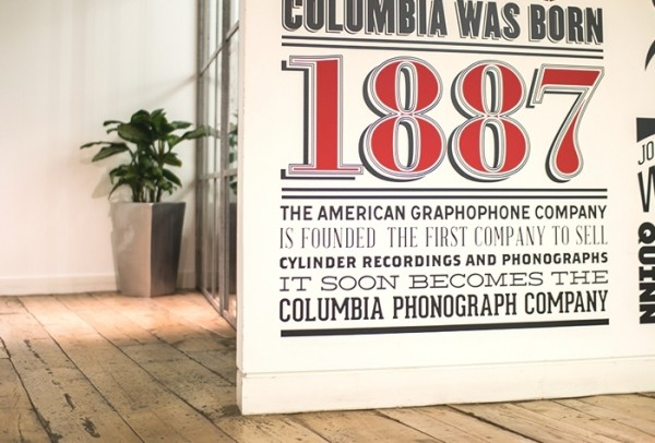 Sony Music Timeline by Alex Fowkes via YouTheDesigner