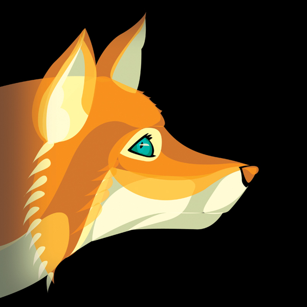 Fox Vector Illustration by Ben O'Brien via You The Designer