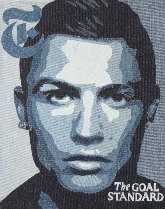 Ronaldo, Denim art by Denimu