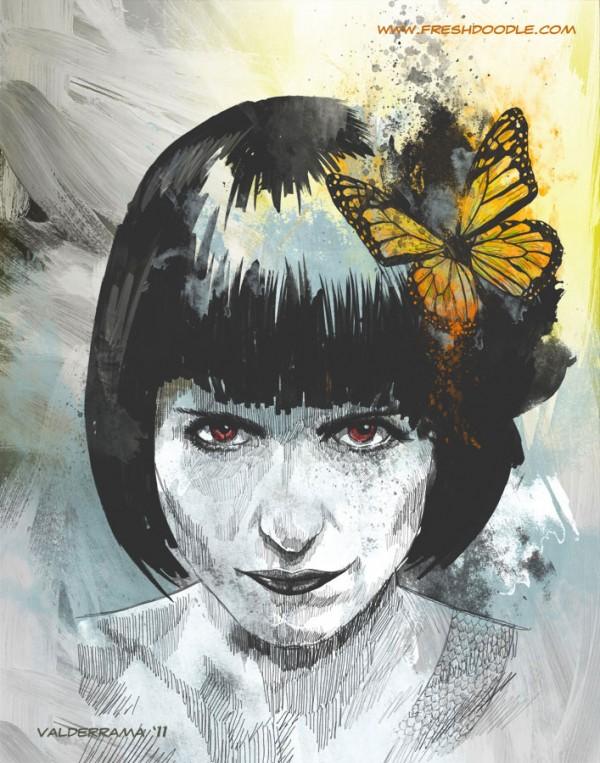 Digital Illustration by JP Valderrama via YouTheDesigner