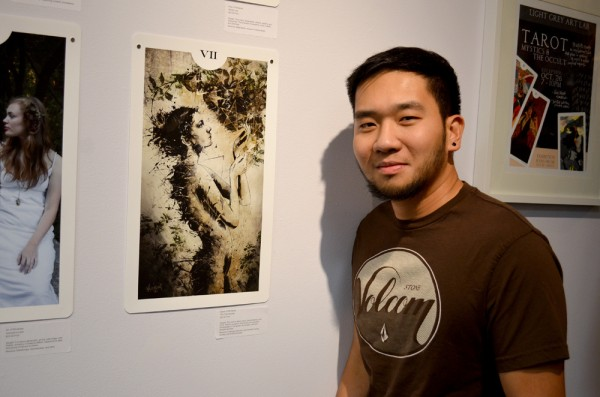 JP in a latest exhibit