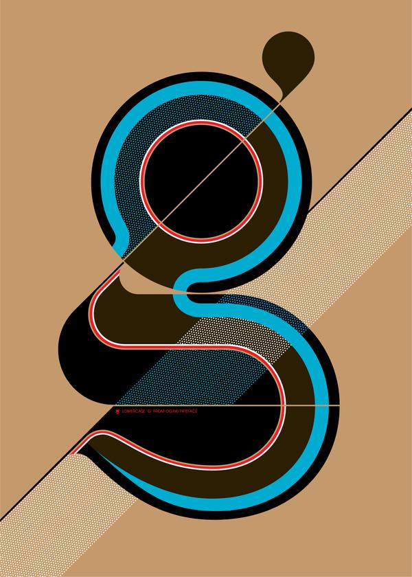 Typography Poster by Áron Jancsó