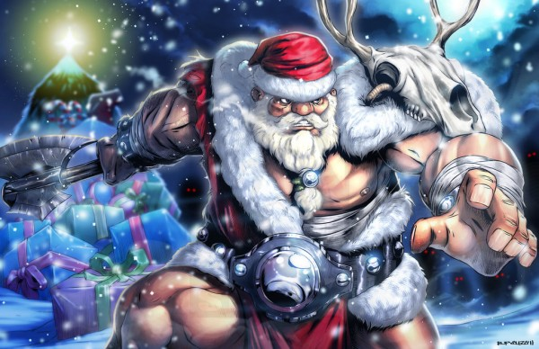 BATTLE-BEFORE-CHRISTMAS_for_cgpintor by totmoartsstudio2