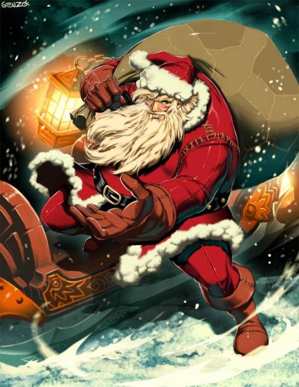 Santa Claus by GENZOMAN