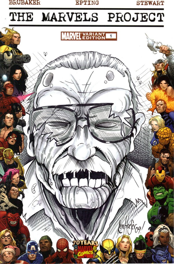 """Zombie Stan Lee"" by Corpsecomic"