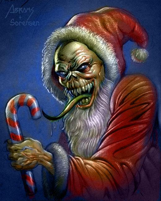 Ghoul Santa by PaulAbrams