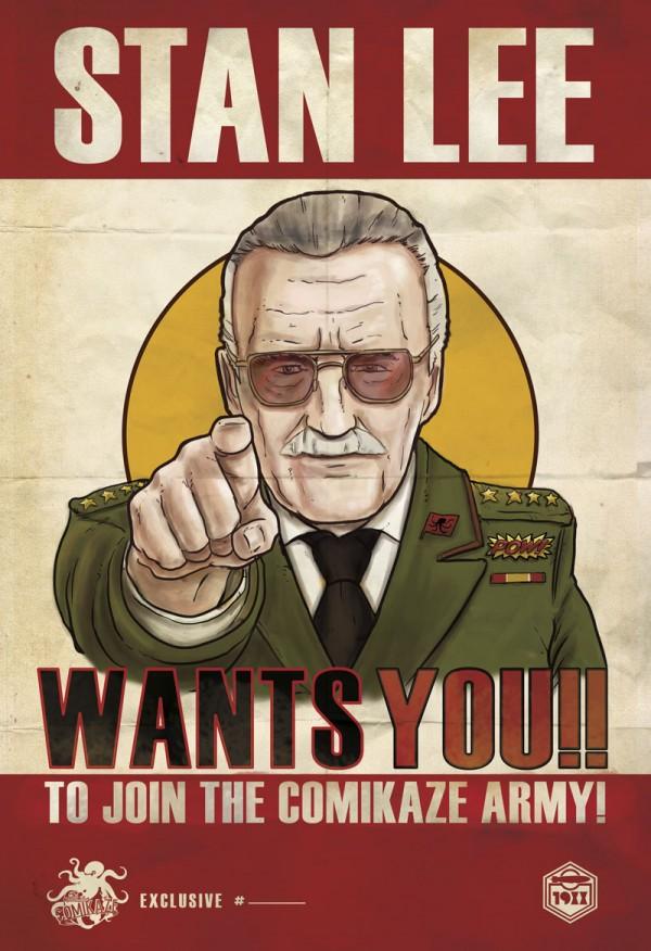 """Stan Lee Poster"" by Kopetkai"