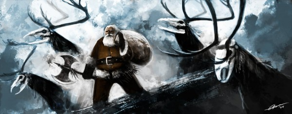 Santa Claus Is Coming To Town by blackbookalpha