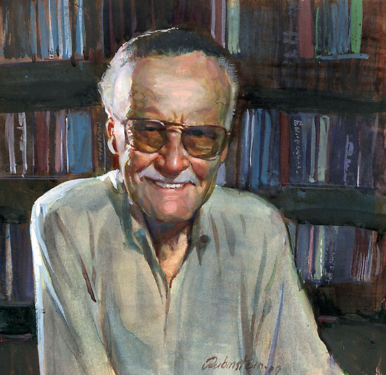 """""""Stan Lee"""" by JosefRubinstein"""