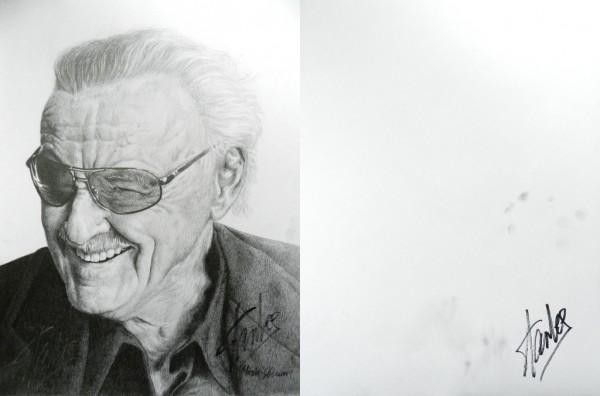 """Stan Lee Signed"" by bronze-dragonrider"