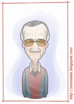 """Stan Lee"" by Ferlancer"