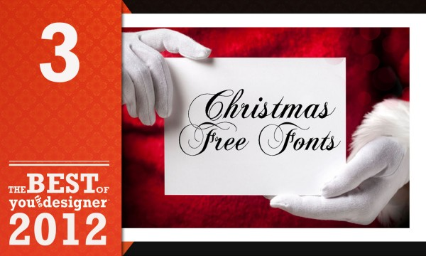 25 Christmas Inspired Free Fonts