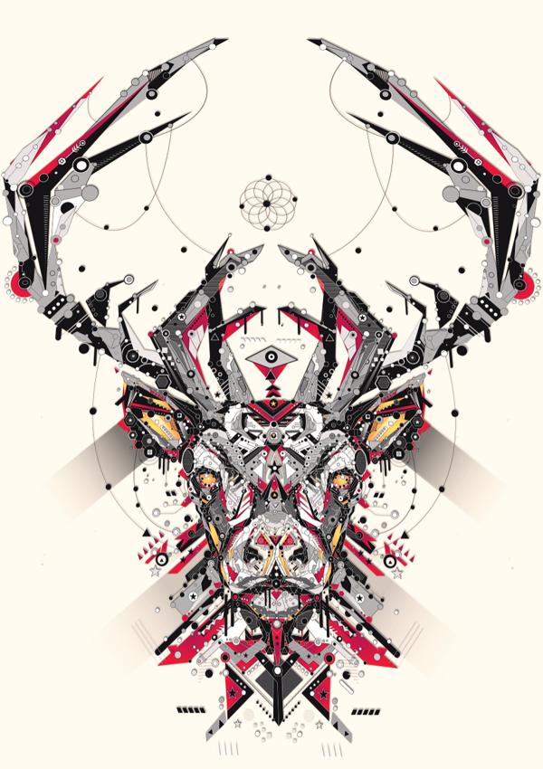 UCreative.com - You! Be Inspired! - Geometric Animal Illustrations ...