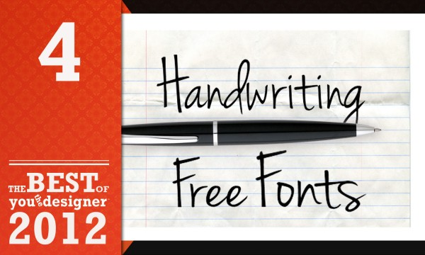 40 Handwriting Free Fonts Every Designer Must Have