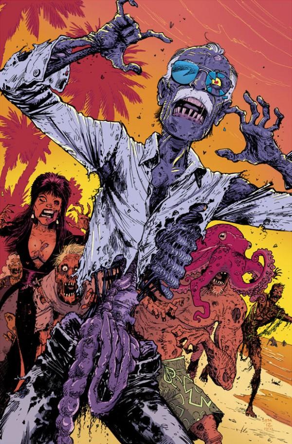 """Zombie Stan Lee"" by Tony Moore via whoisrico"