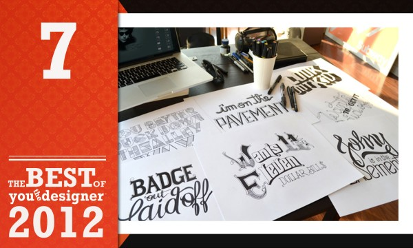 A Hand Lettering Experience by Leandro Senna