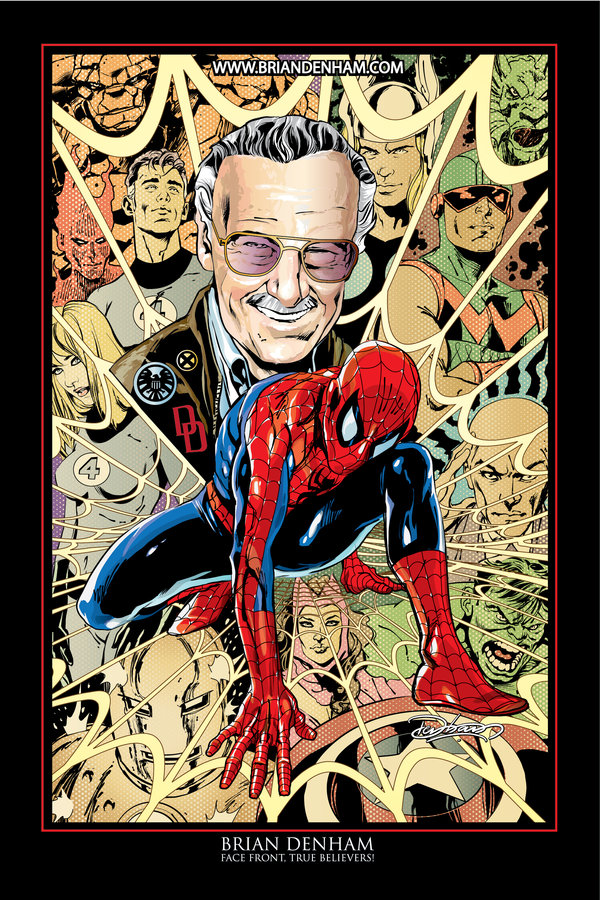 """Stan Lee"" by Brian Denham via DaneRot"