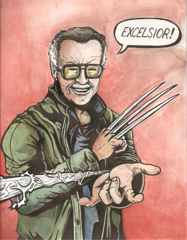"""Stan Lee Excelsior"" by Daniel-Jeffries"