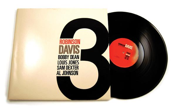 Robinson Davis Record Album Cover Design by Rachel Spoon