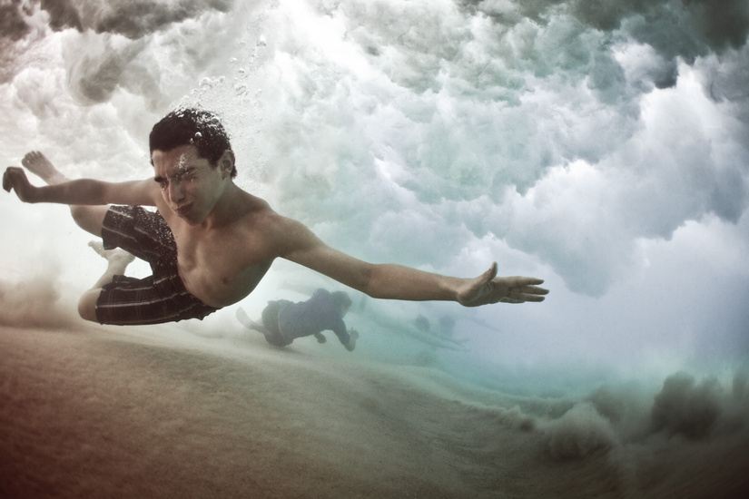 """""""Escape""""   The Underwater Project by Mark Tipple"""