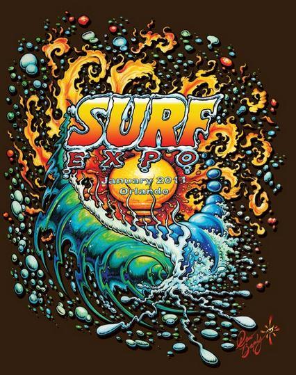 Surf Expo T-Shirt Design | (c)  Drew Brophy