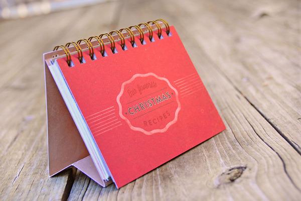 JMG Christmas Recipe Book by Rachel Spoon