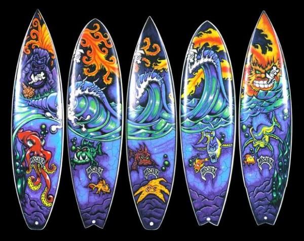 Surfboards | (c) Drew Brophy