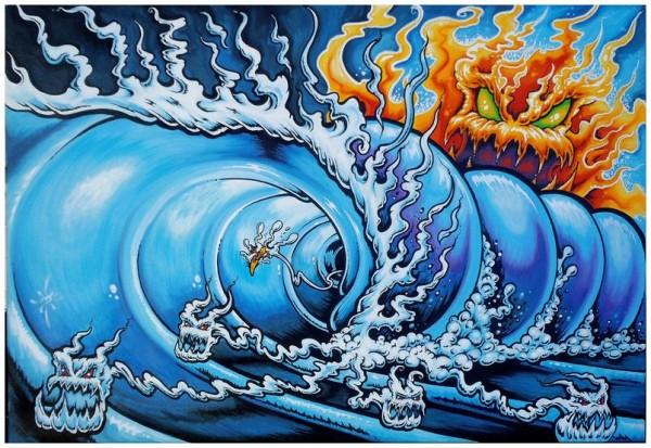 """Death Tube"" | (c) Drew Brophy"