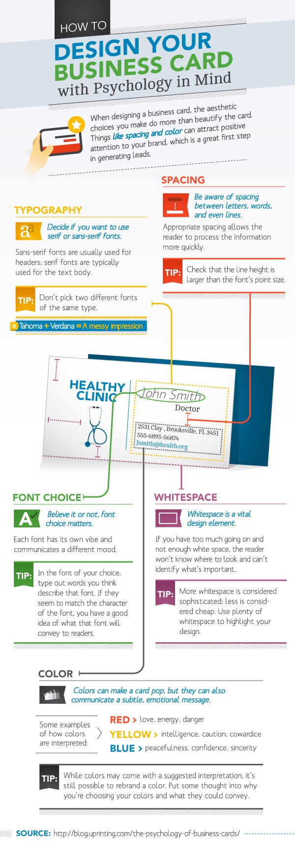 The Psychology of Business Cards