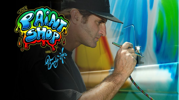 The Paint Shop with Drew Brophy
