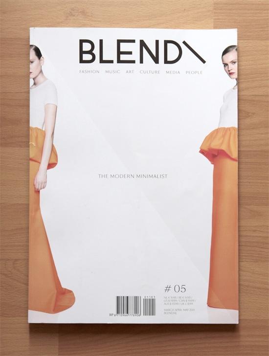 BLEND Magazine, Issue 05 The Modern Minimalist