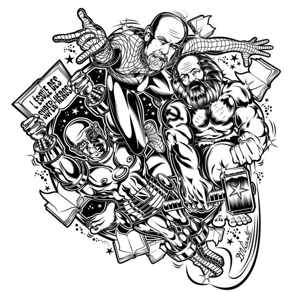 Illustration by David Vicente