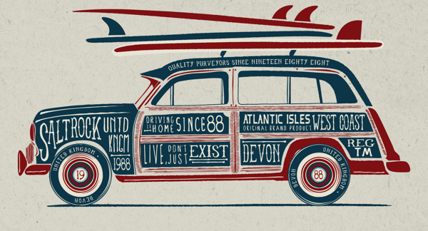 You be inspired the vintage style graphics of neil beech - Vintage style images ...