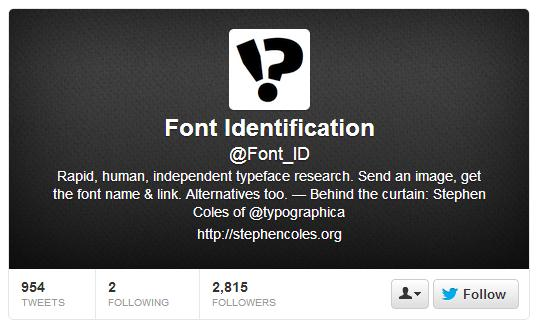 Web Apps and People that can Help You Identify Fonts