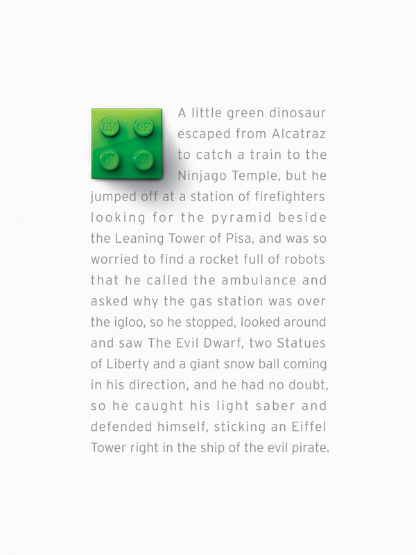 Lego: Green Brick