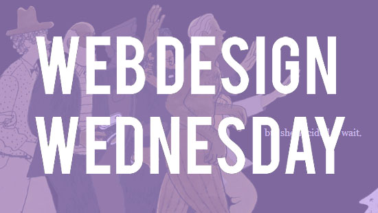 Web Design Wednesday -- Navigating the web with Parallax Scrolling