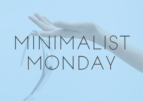 Minimalist Monday – Simplified Product Designs