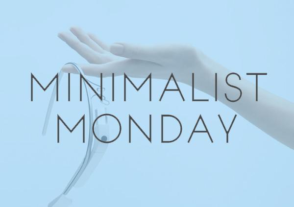 Minimalist Monday – Simplified Product Designs