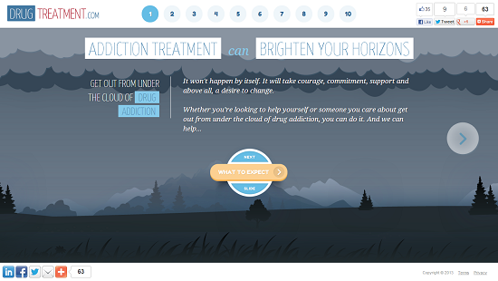 parallax scrolling example 01