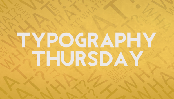 Typography Thursday -- Web Apps and People that can Help You Identify Fonts